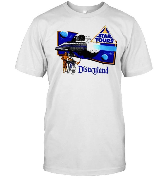 Star Wars Star Tours 80S Disneyland shirt Classic Men's T-shirt
