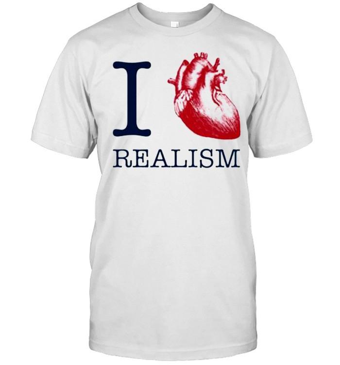 I heart realism shirt Classic Men's T-shirt