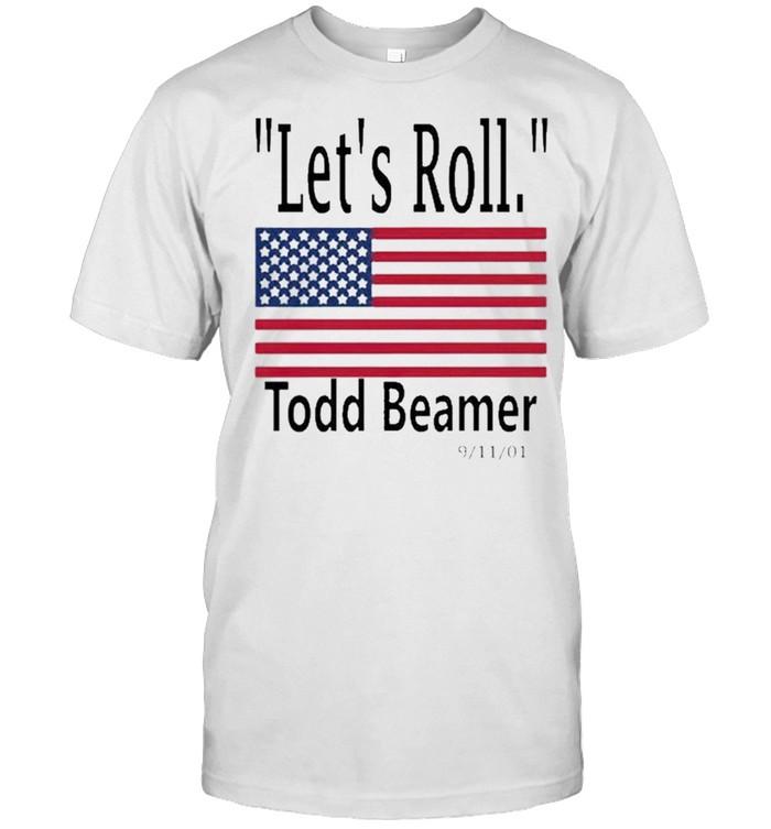 Let's roll todd beamer shirt Classic Men's T-shirt