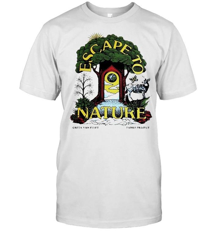 Greta Van Fleet x Parks Project Escape To Nature  Classic Men's T-shirt