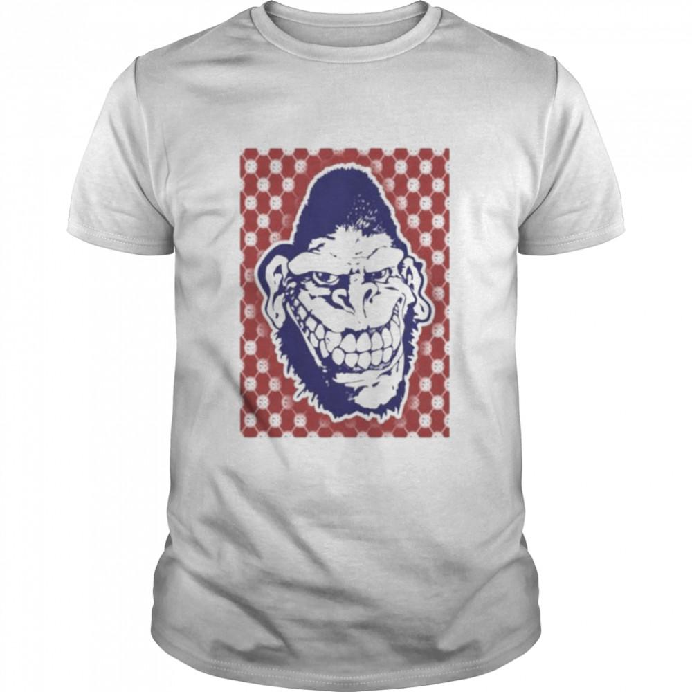 Gorilla biscuits pattern shirt Classic Men's T-shirt