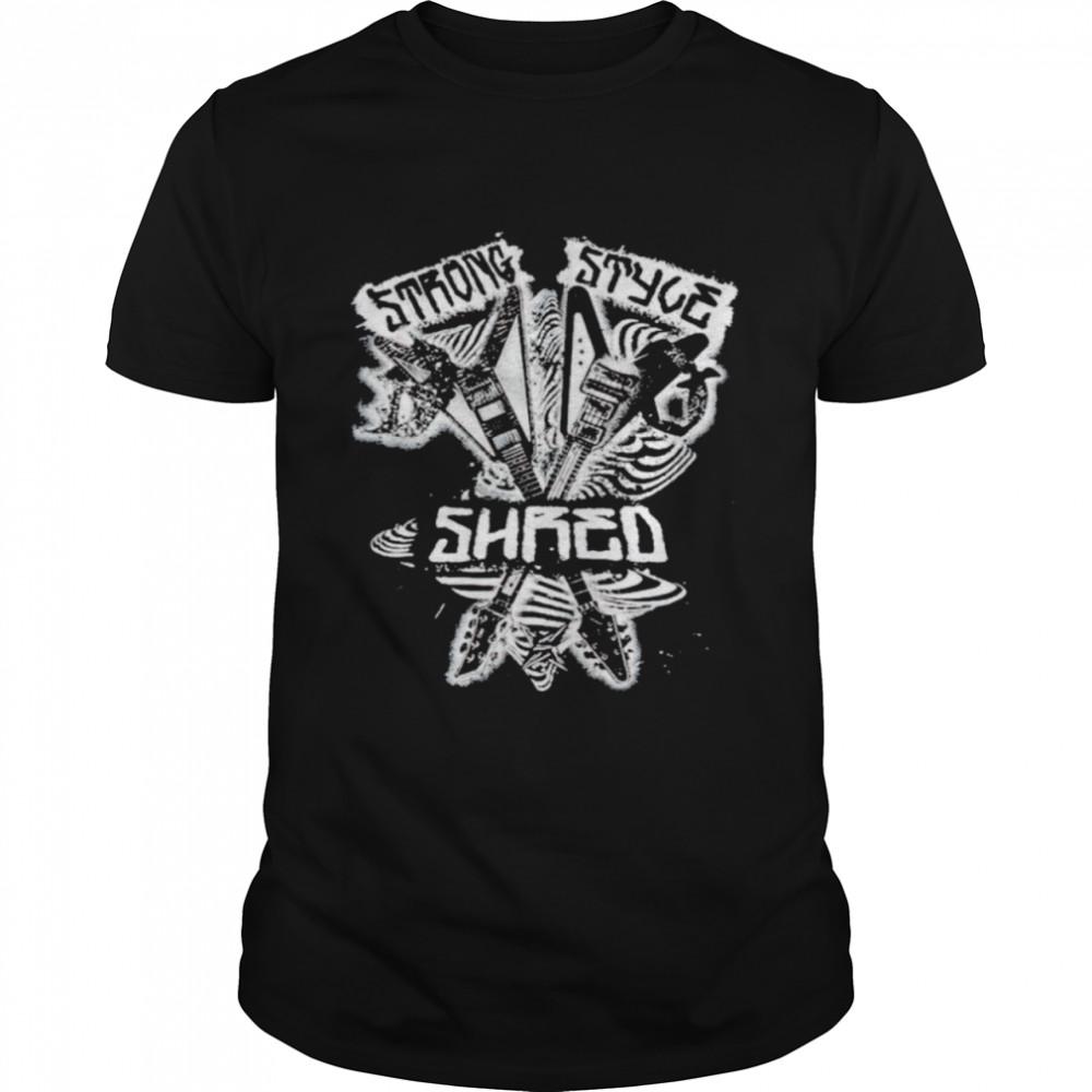 King Nakamura x Rick Boogs strong style shirt Classic Men's T-shirt