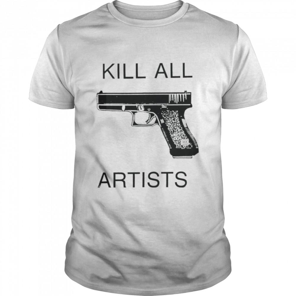 Tom Sachs kill all artists shirt Classic Men's T-shirt