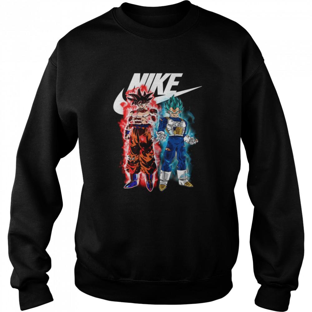 Goku And Vegeta shirt Unisex Sweatshirt