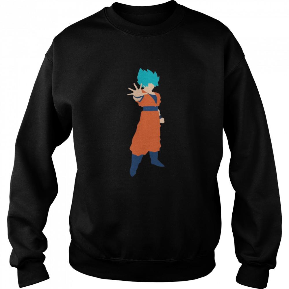 Goku Minimalism shirt Unisex Sweatshirt