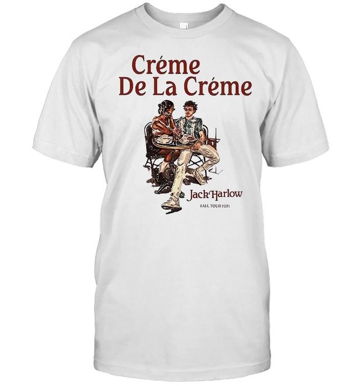Jack Harlow Creme De La Creme fall tour 2021 T-shirt Classic Men's T-shirt