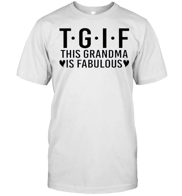 Nice this Grandma Is Fabulous  Classic Men's T-shirt