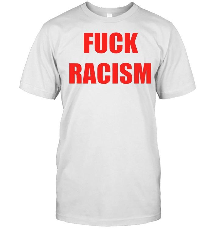 No more heroes 3 fuck travis touchdown fuck racism 2022 shirt Classic Men's T-shirt