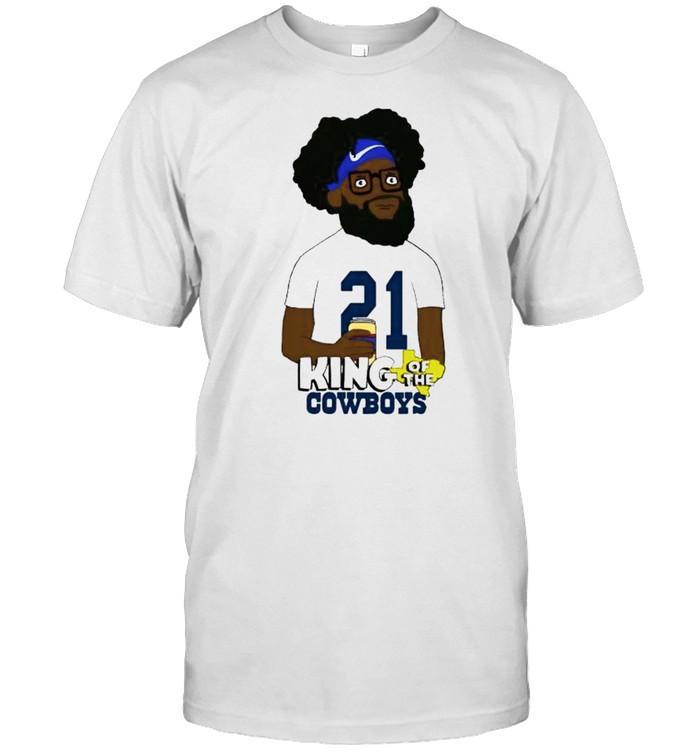 Ezekiel Elliott king of the Cowboys shirt Classic Men's T-shirt