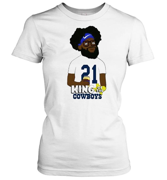 Ezekiel Elliott king of the Cowboys shirt Classic Women's T-shirt