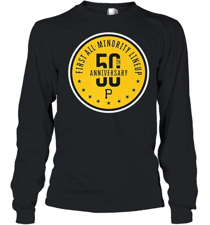 First all minority lineup 50th anniversary shirt Long Sleeved T-shirt