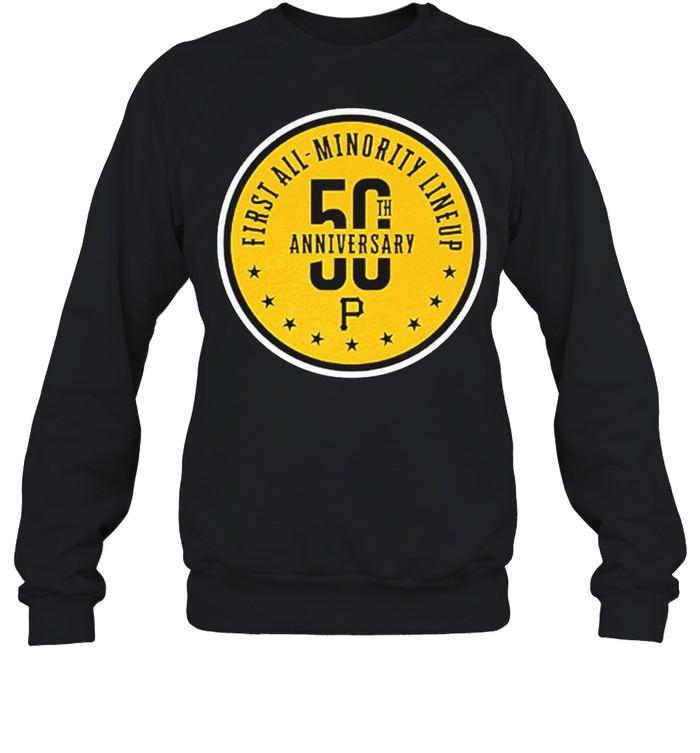First all minority lineup 50th anniversary shirt Unisex Sweatshirt