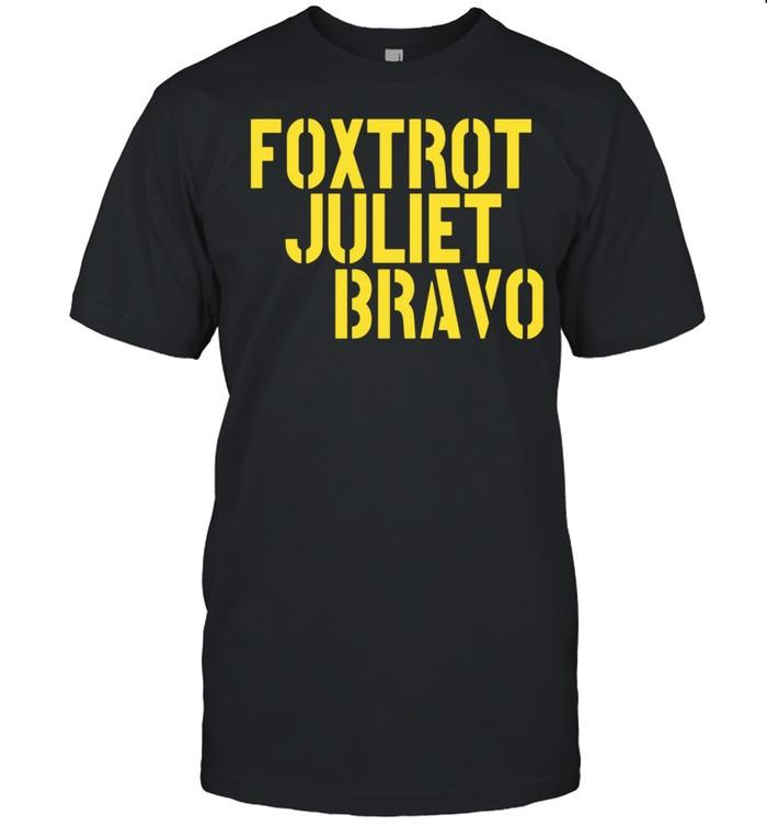 Foxtrot Juliet Bravo  Classic Men's T-shirt