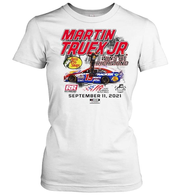 Martin Truex Jr. wins at richmond shirt Classic Women's T-shirt