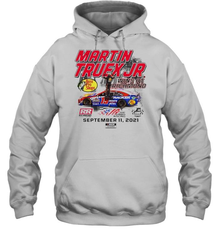 Martin Truex Jr. wins at richmond shirt Unisex Hoodie