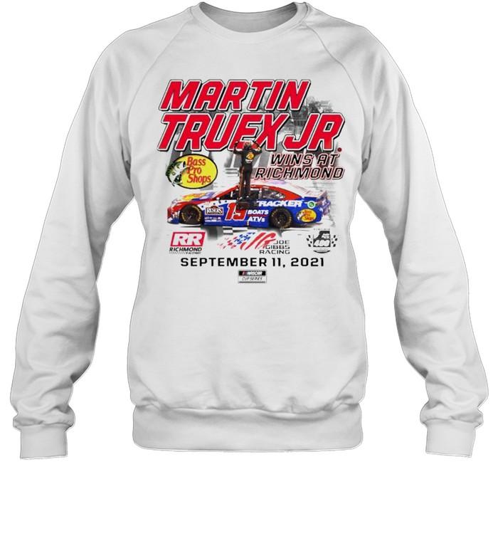 Martin Truex Jr. wins at richmond shirt Unisex Sweatshirt
