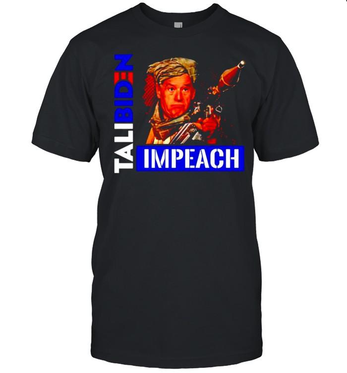Biden Taliban Talibiden impeach shirt Classic Men's T-shirt