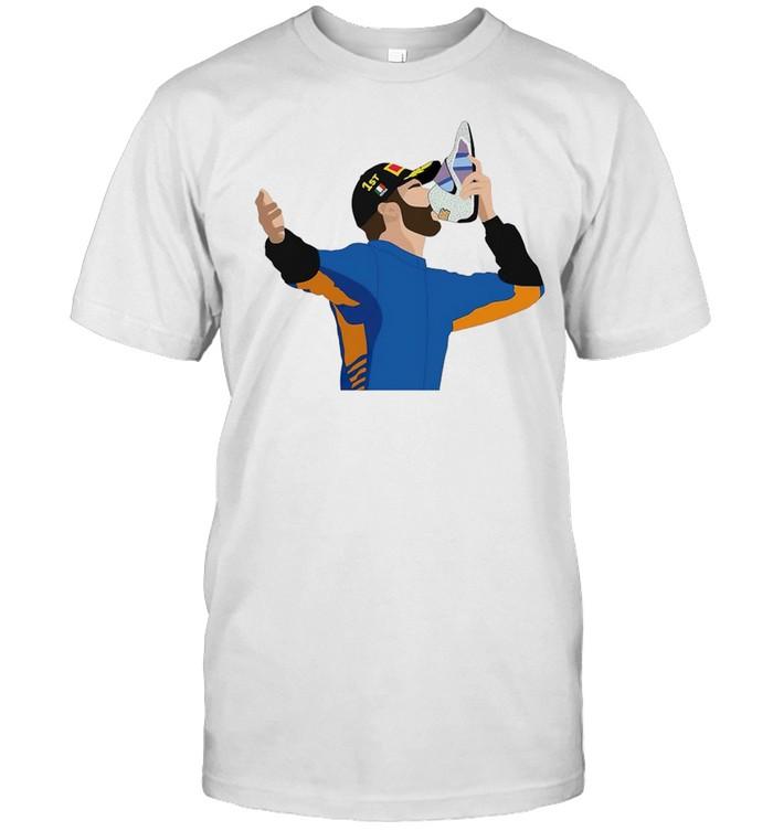 Daniel Ricciardo Monza 2021 shirt Classic Men's T-shirt