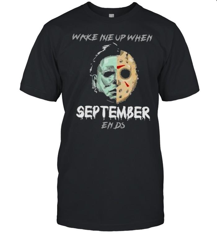 Horror Character Mirror Water Halloween t Classic Men's T-shirt