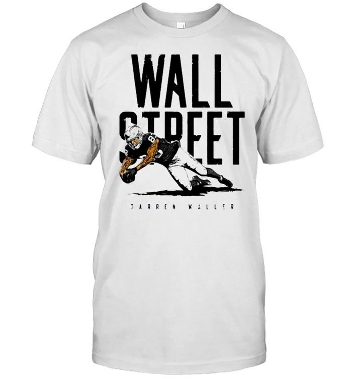 Darren Waller Las Vegas Raiders Wall Street shirt Classic Men's T-shirt