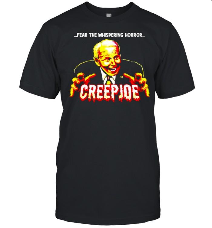 Fear the whispering horror creep Joe shirt Classic Men's T-shirt