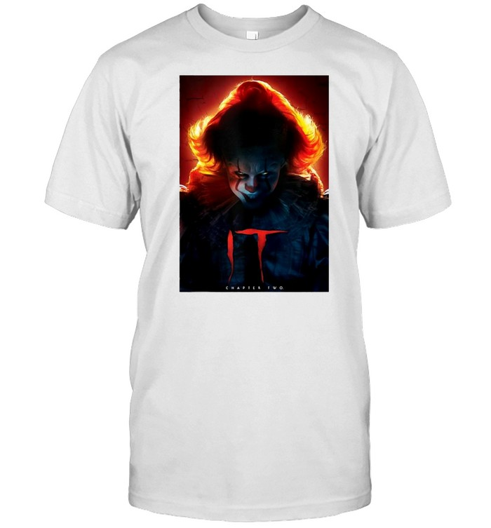 It Chapter Two Pennywise Glow Poster T-shirt Classic Men's T-shirt