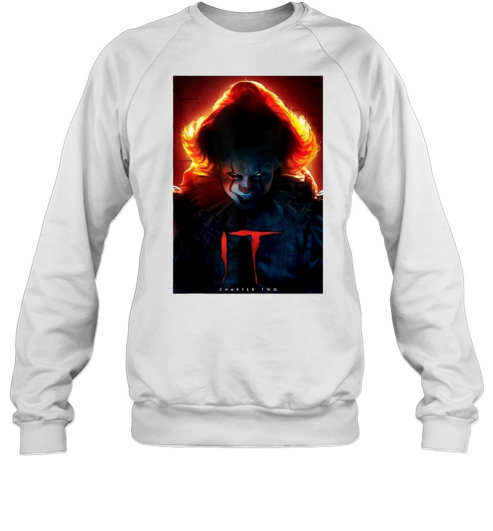 It Chapter Two Pennywise Glow Poster T-shirt Unisex Sweatshirt