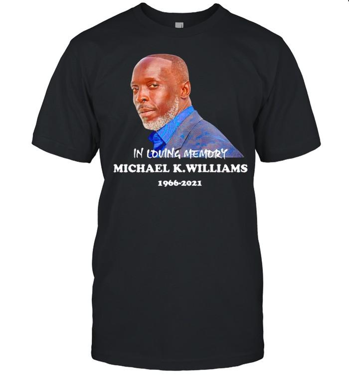 Michael K. Williams RIP in loving memory 1966-2021 shirt Classic Men's T-shirt