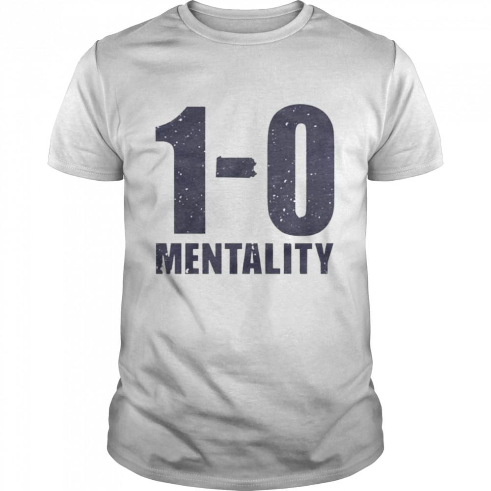 1-0 Mentality shirt Classic Men's T-shirt