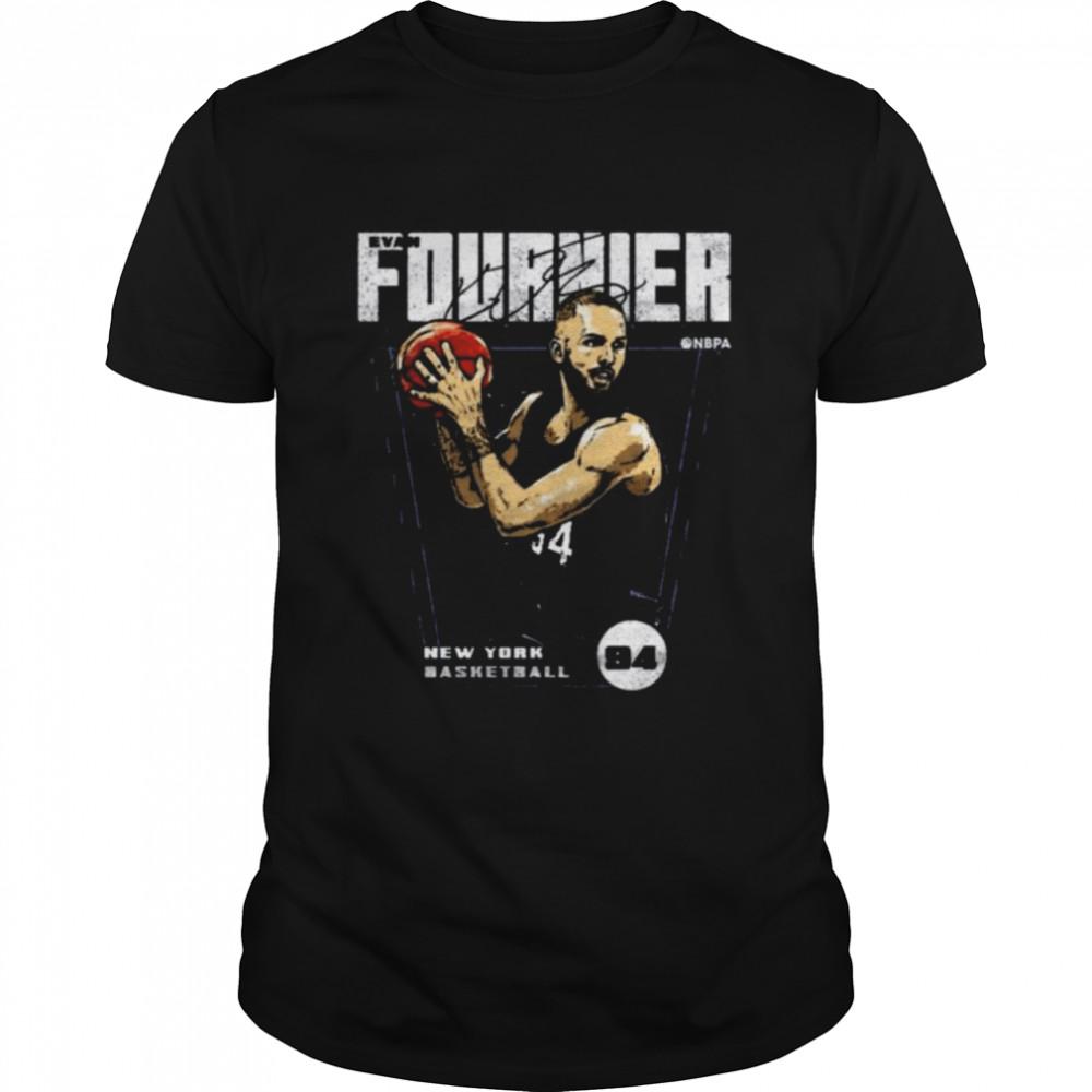 Evan Fournier New York Basketball Premiere Signature  Classic Men's T-shirt