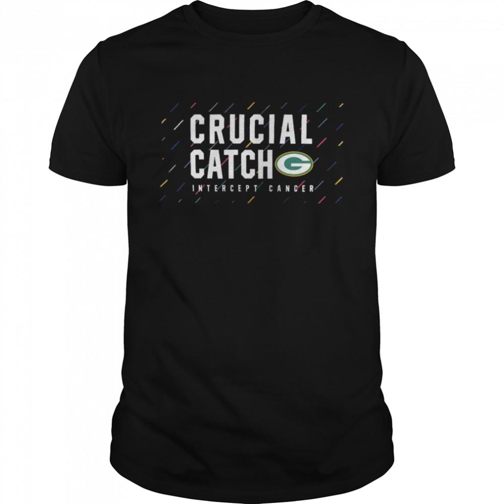 Green Bay Packers 2021 crucial catch intercept cancer shirt Classic Men's T-shirt