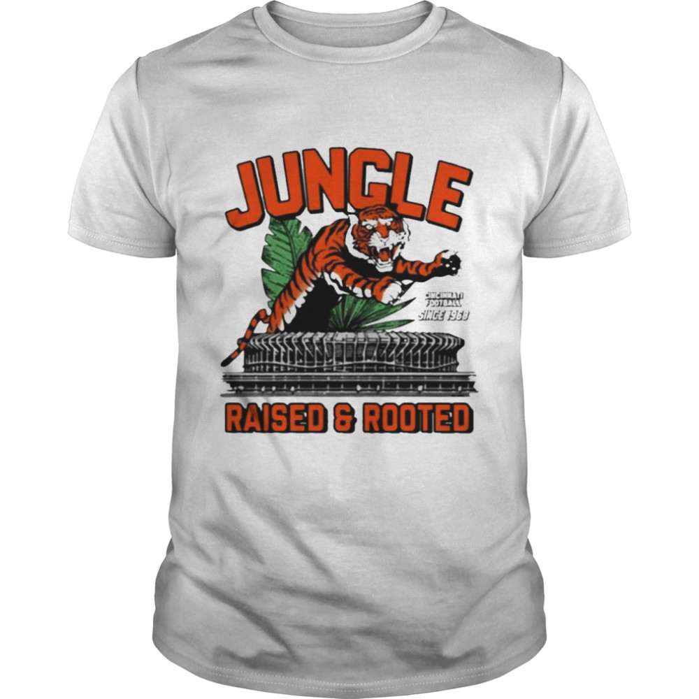 Jungle Raised Rooted Drew Garrison Jungle Raised Rooted T-shirt