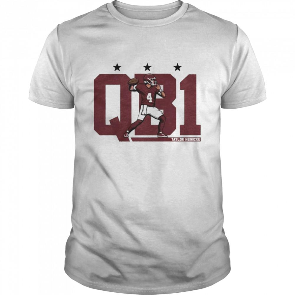 Taylor Heinicke QB1 shirt Classic Men's T-shirt