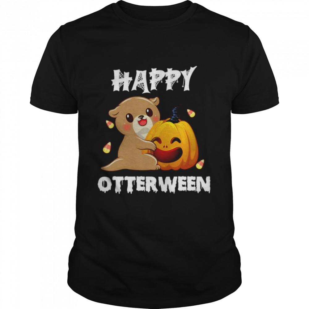 Otter Happy Halloween Otterween T-shirt Classic Men's T-shirt