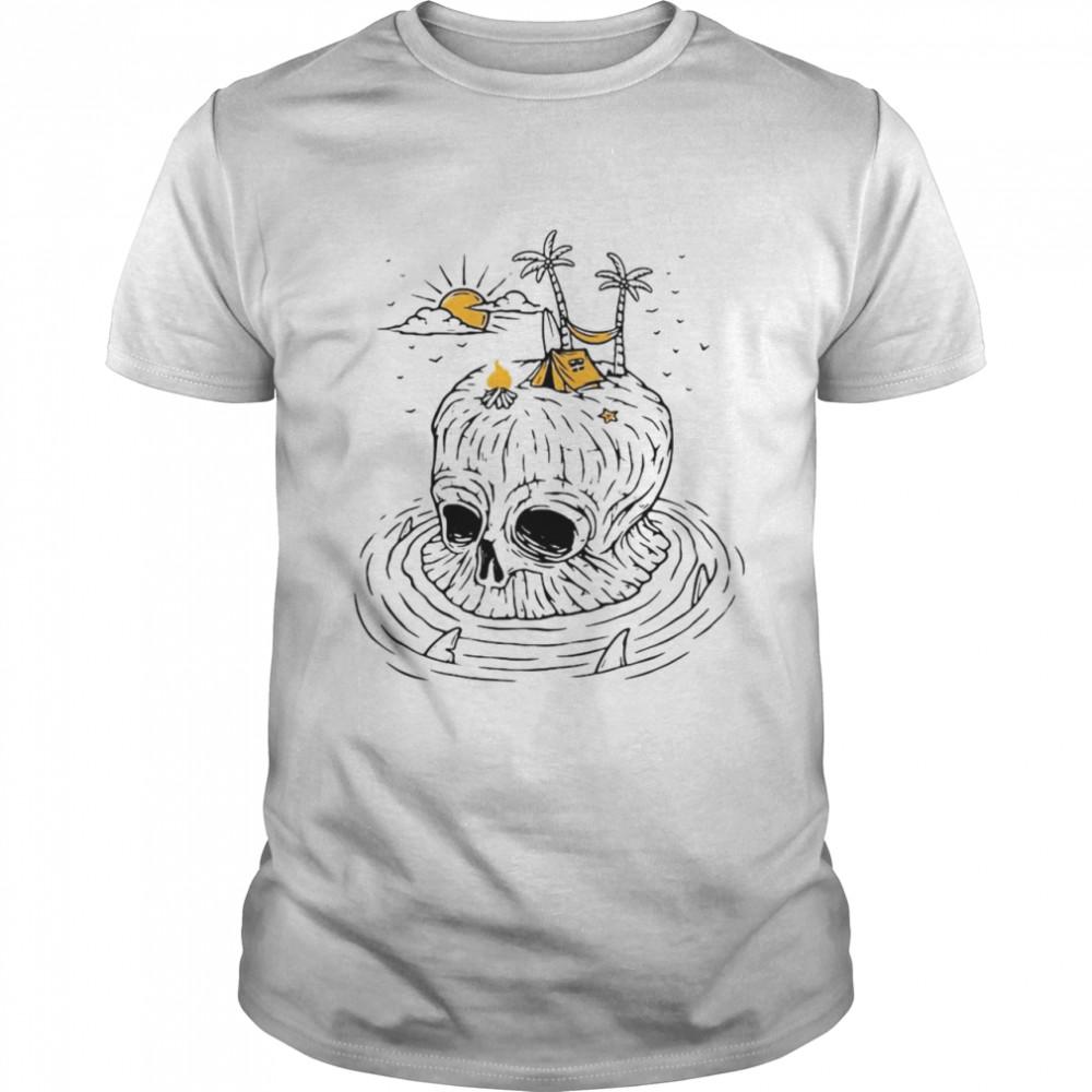 Skull Island Summer Holiday T-shirt Classic Men's T-shirt