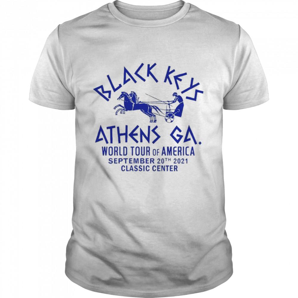 Black Keys Athens GA world tour of America shirt Classic Men's T-shirt