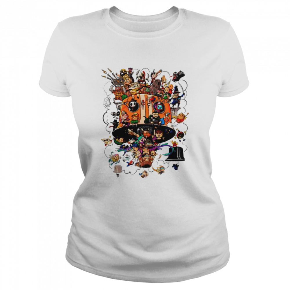 Crew Balloons Twitch subs group art shirt Classic Women's T-shirt