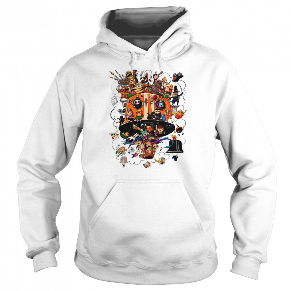 Crew Balloons Twitch subs group art shirt Unisex Hoodie