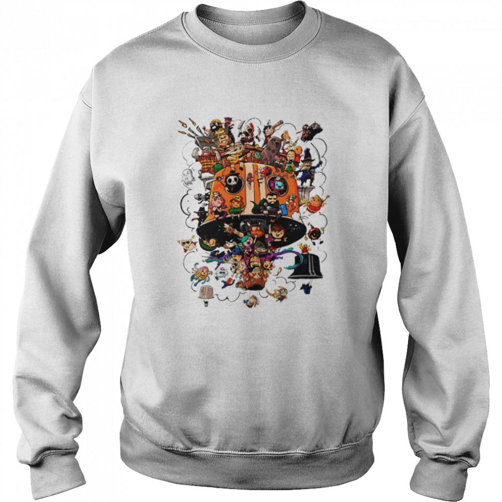 Crew Balloons Twitch subs group art shirt Unisex Sweatshirt