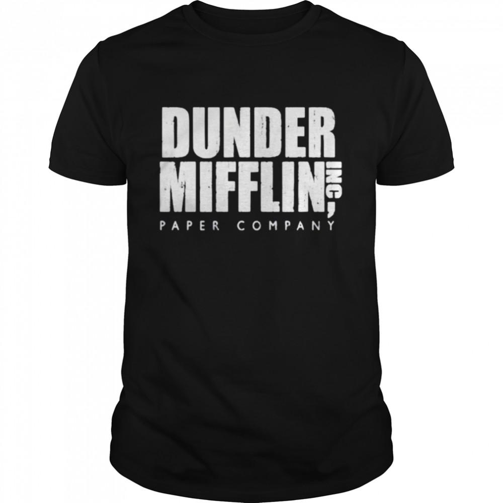 Dunder Mifflin Paper Company shirt Classic Men's T-shirt
