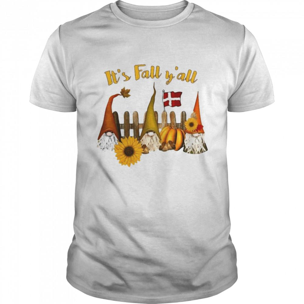 It's Fall Y'all Halloween T-shirt Classic Men's T-shirt