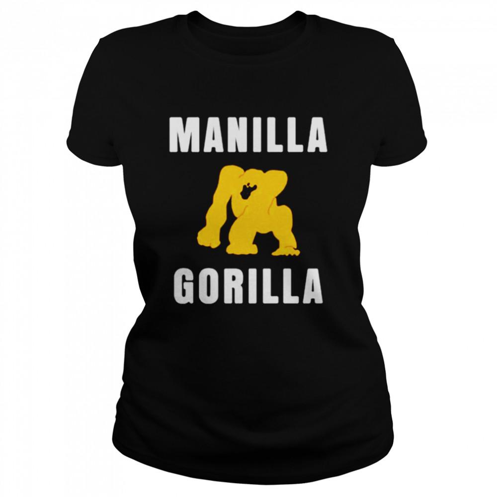 Manilla Gorilla shirt Classic Women's T-shirt