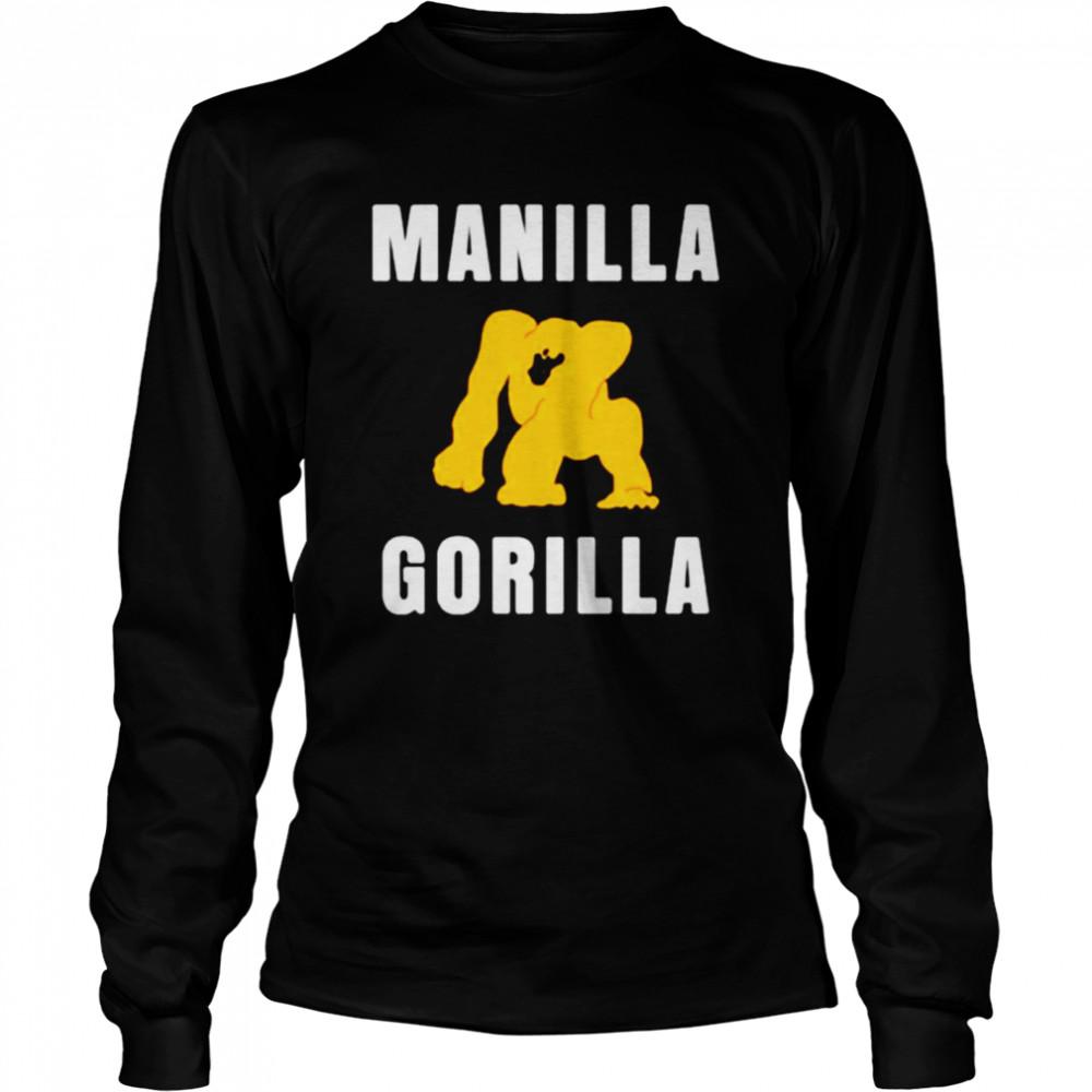 Manilla Gorilla shirt Long Sleeved T-shirt