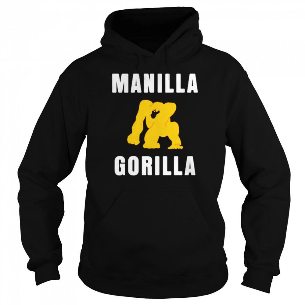 Manilla Gorilla shirt Unisex Hoodie