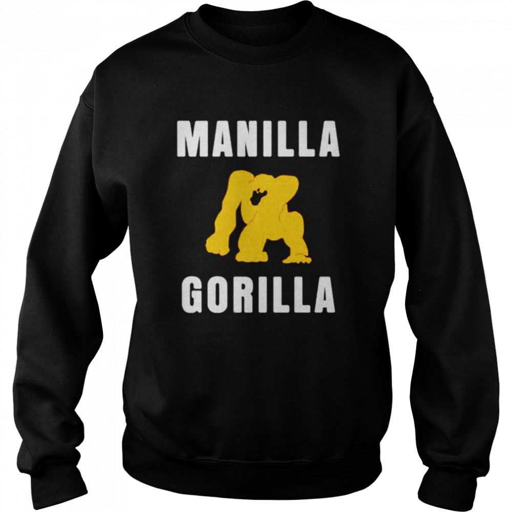 Manilla Gorilla shirt Unisex Sweatshirt