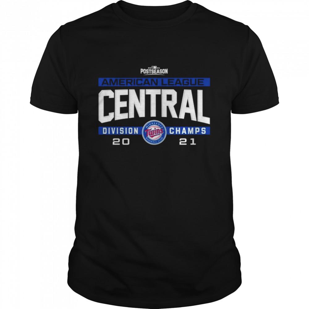 Minnesota Twins 2021 AL Central division champs shirt Classic Men's T-shirt