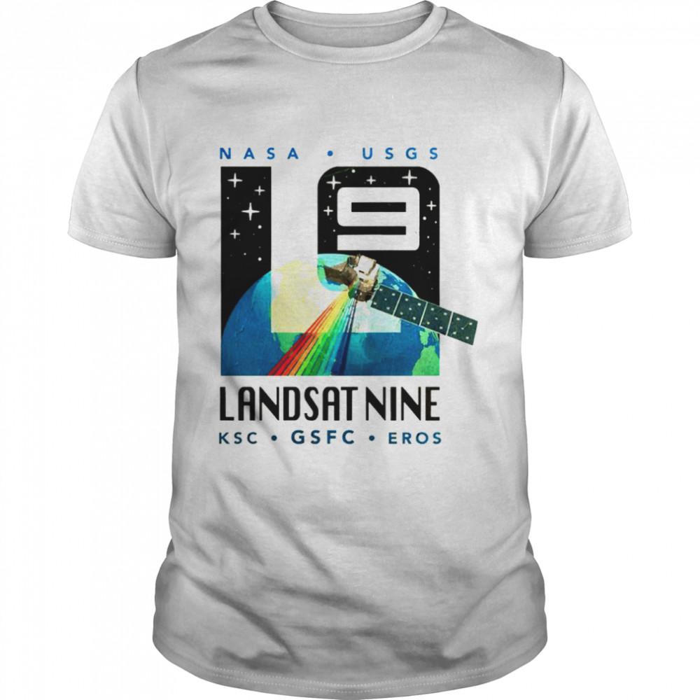 Nasa Usgs Landsat Nine KSC GSFC EROS shirt Classic Men's T-shirt