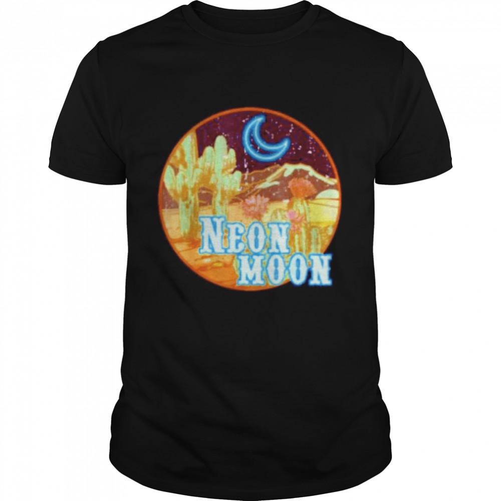 Neon moon retro shirt Classic Men's T-shirt