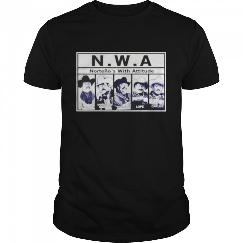 N.W.A Nortenos With Attitude shirt Classic Men's T-shirt