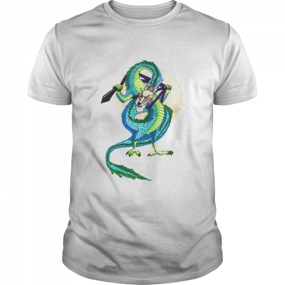 Ropedart Eastern Asian Dragon shirt Classic Men's T-shirt